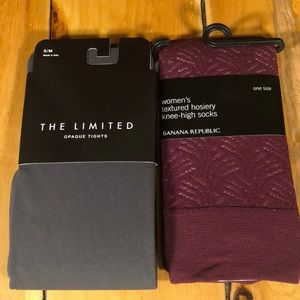 NWT 2 pairs of tight Banana republic , the limited